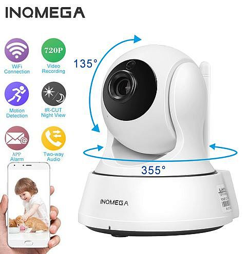 720P WiFi Home Security CCTV Camera with Night Vision Two Way Audio P2P Remote View